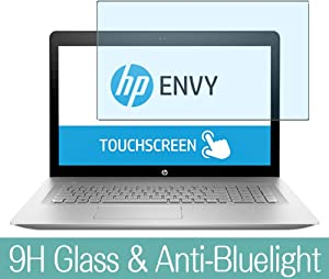 """Synvy Anti Blue Light Tempered Glass Screen Protector for HP Envy 17-u100 / u177cl / u175nr / u163cl / u110nr / u108ca 17.3"""" Visible Area 9H Protective Screen Film Protectors"""