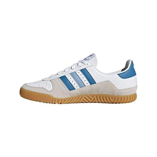 adidas Indoor Comp Spzl, Zapatillas de Cross para Hombre, Blanco Ftwwht/Supcol/Cbrown, 40 2/3 EU: Amazon.es: Zapatos y complementos