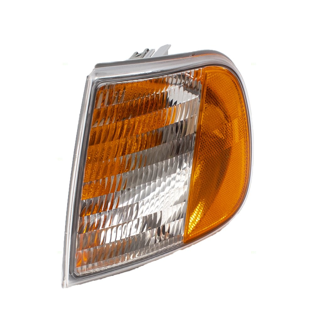 Drivers Park Signal Corner Marker Light Lamp Unit Replacement for Ford F150 F250 Pickup Truck Expedition F75Z13201AC AUTOANDART