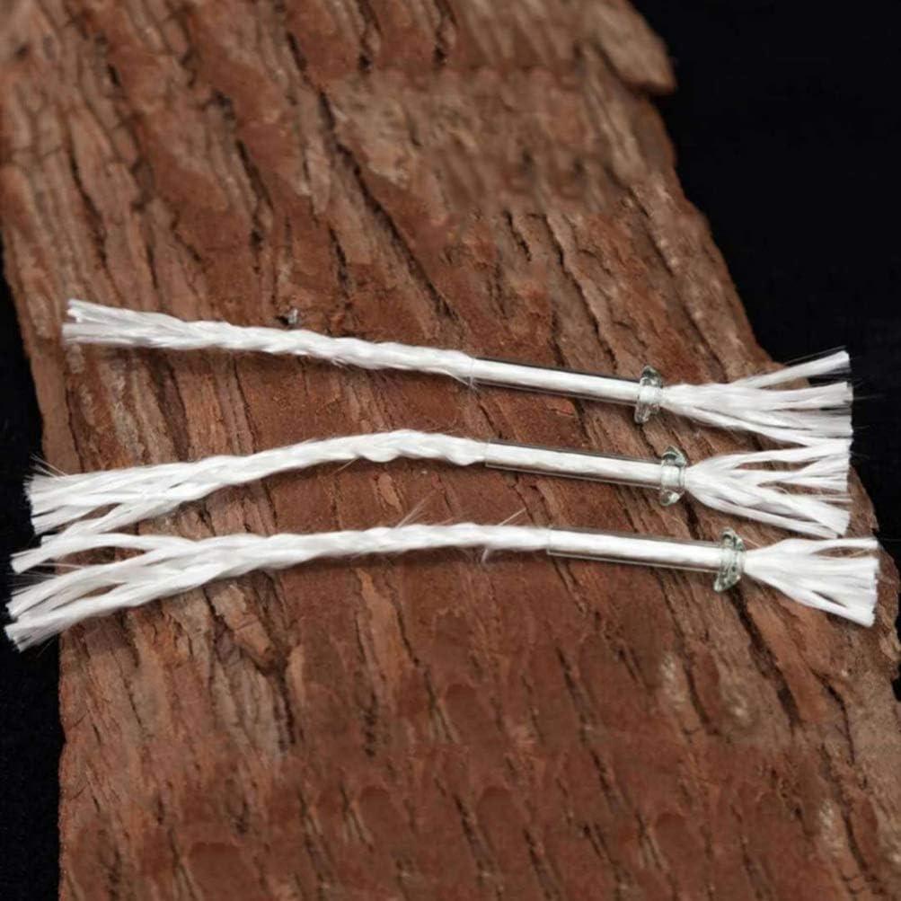 Healifty 10pcs Replacement Wicks Fiberglass Wicks Oil Lamps Burner Wick Replacements DIY Craft
