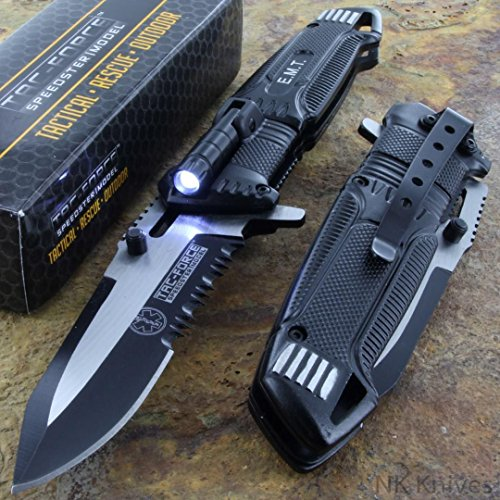 Tac Force Speedster Folding Pocket Serrated
