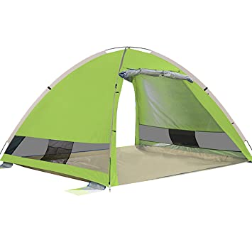 G4Free Outdoors Large Pop Up Beach Tent Instant Easy Up Cabana Large 3-4 Person  sc 1 st  Amazon.com & Amazon.com: G4Free Outdoors Large Pop Up Beach Tent Instant Easy ...
