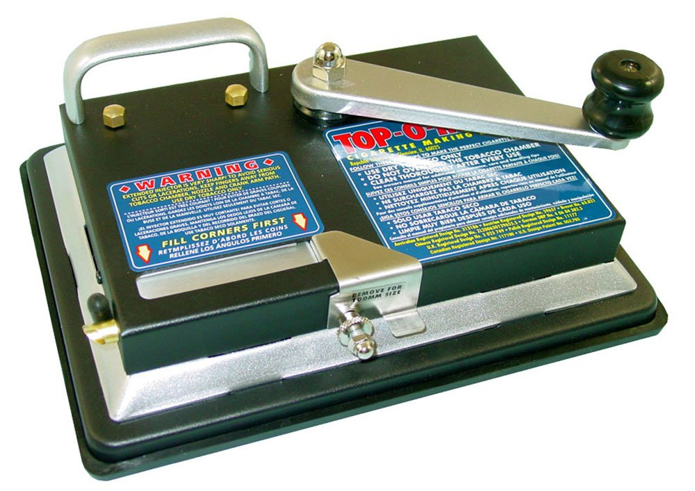 New Top-O-Matic Cigarette Rolling Machine by Lighter USA