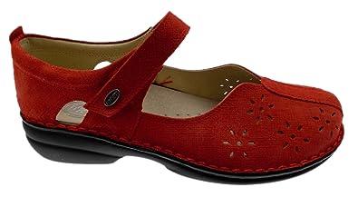 Chaussures Loren rouges femme WWyFG8J