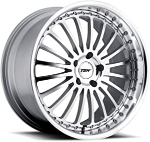 "TSW Silverstone Silver Wheel with Machined Lip (18x8""/5x110mm)"