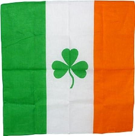 "Wholesale lot 3 22/""x22/"" Ireland Irish Shamock Clover St.Patrick/'s Day Bandana"