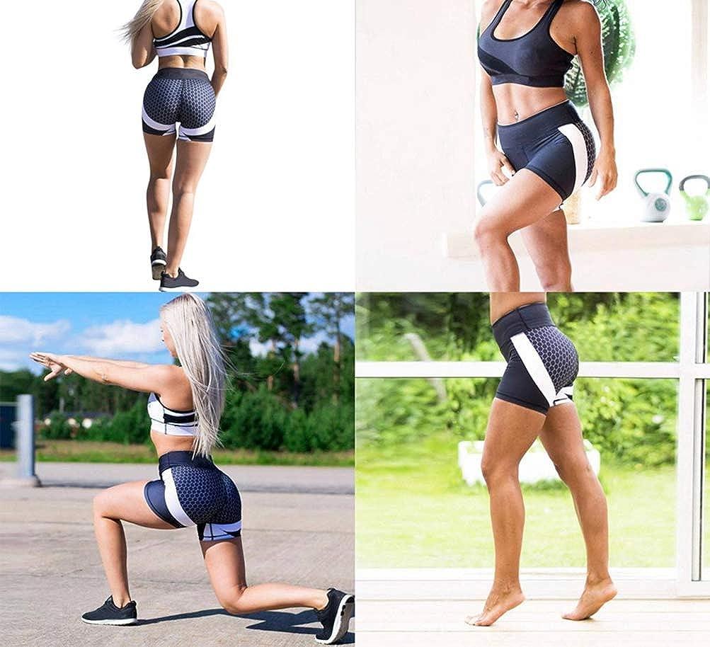 Pink Pants,XL QSQKI Leggings Yoga Pants Women Fitness Wear Workout Leggings Push Up Elastic Slim