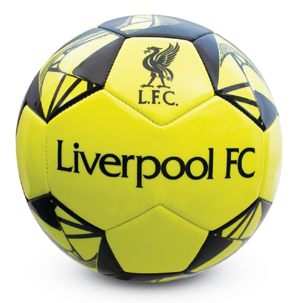 Liverpool Fluorescent Football Size 5 Hy-Pro International