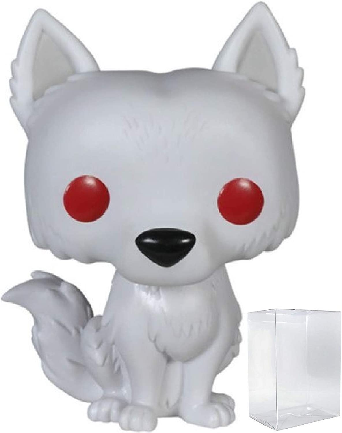 Amazon Com Game Of Thrones Ghost Dire Wolf Funko Pop Vinyl
