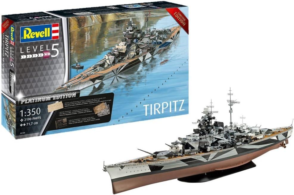 Revell 05160 Tripitz TIRPITZ (Platinum Edition) 1:350 Scale