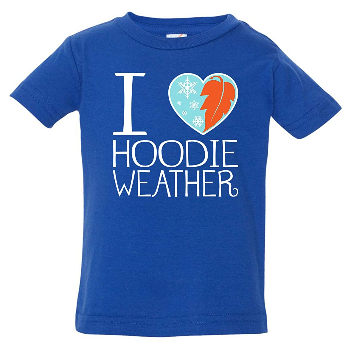 Tenacitee Babys I Heart Hoodie Weather Shirt