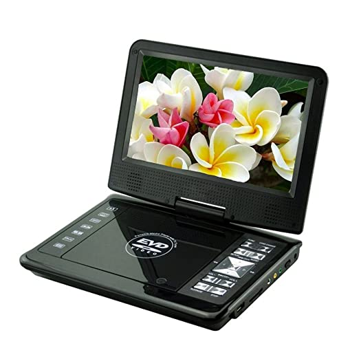 """21 opinioni per GamutTek 9,8 """"lettore DVD con display ruotabile, supporto SD card e USB, giocare"""
