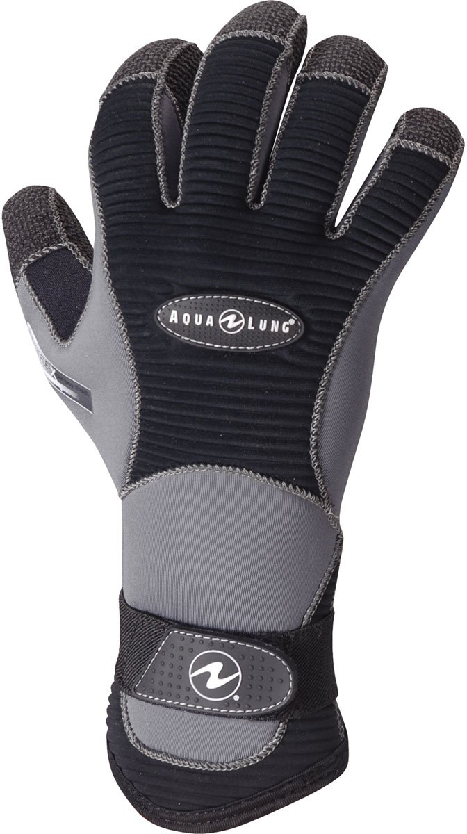 Deep See by Aqua Lung 3mm Men's Aleutian Kevlar Dive Gloves (X-Small)