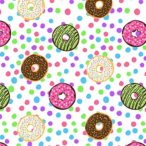 GRAPHICS & MORE Cute Donuts Sprinkles Chocolate Yummy