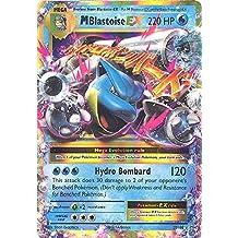 Pokemon - M/Mega-Blastoise-EX (22/108) - XY Evolutions - Holo Rare Card