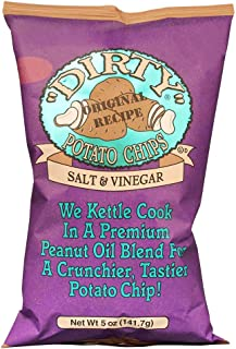 product image for Dirty Kettle Chips Bag, Sea Salt and Vinegar, 5 oz., 12 Piece