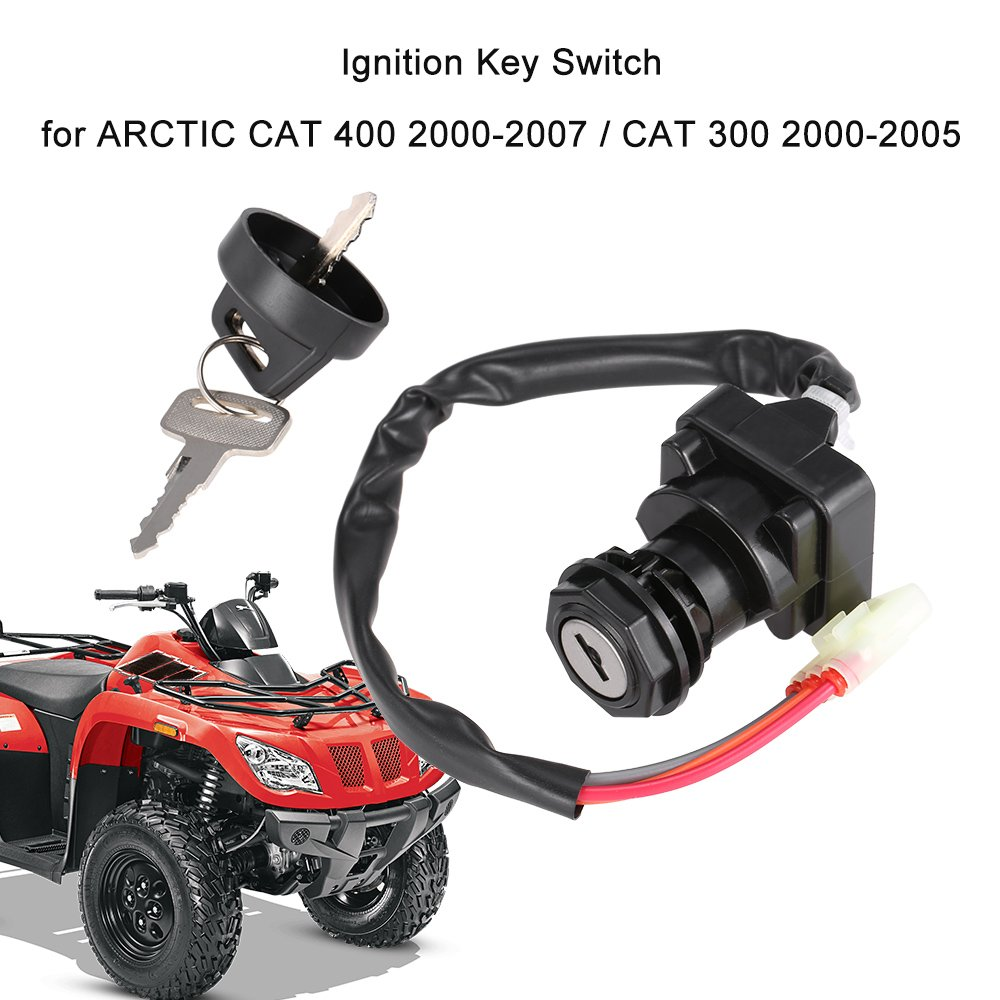 Amazon com: KKmoon Ignition Key Switch for ARCTIC CAT 400