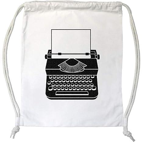 Azeeda Máquina de Escribir Cordón / Bolsa de Gimnasio (DB00000993)