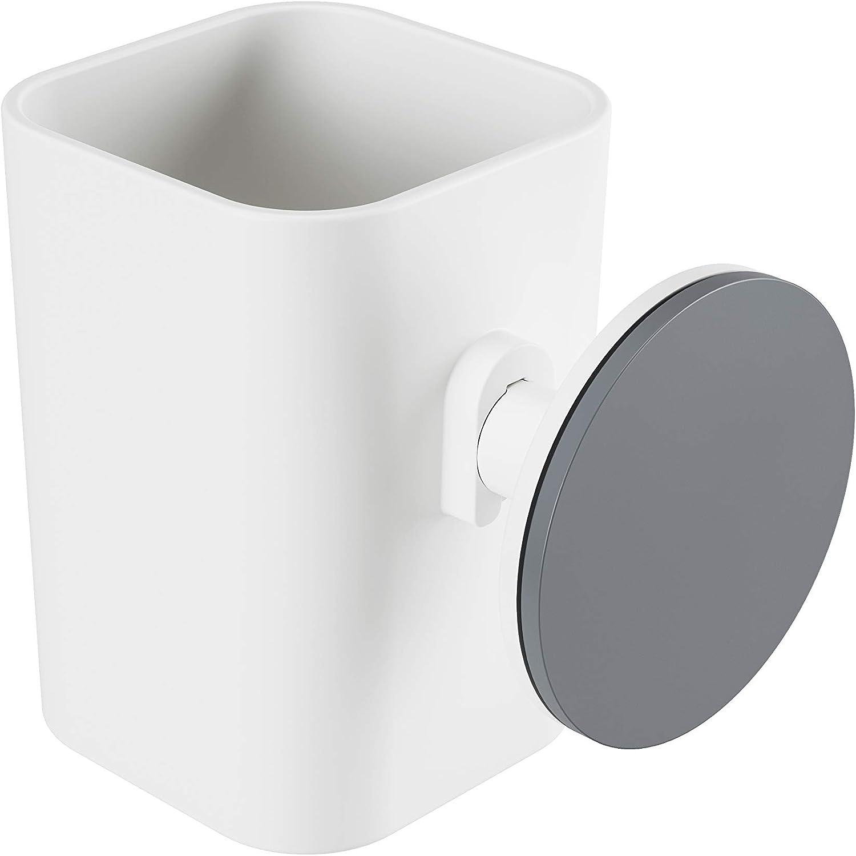 Wei/ß Umbra Flex Sure-Lock Zahnb/ürstenhalter und Aufbewahrungsbecher