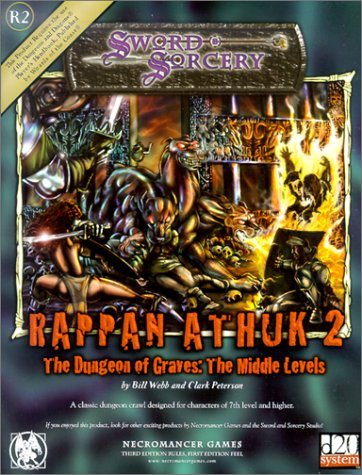 Rappan Athuk II (d20 Generic System)