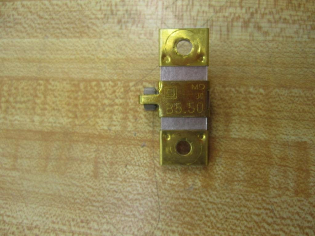 Square D B5.50 Unit Overload Heater Heat Coil Used