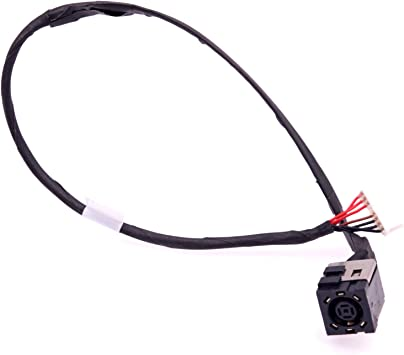 Zahara DC Power Jack with Cable Socket Plug Connector Replacement for Dell Inspiron 5567-7291