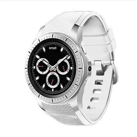 Amazon.com: gw11 GW10 redondo reloj inteligente reloj gw11 ...