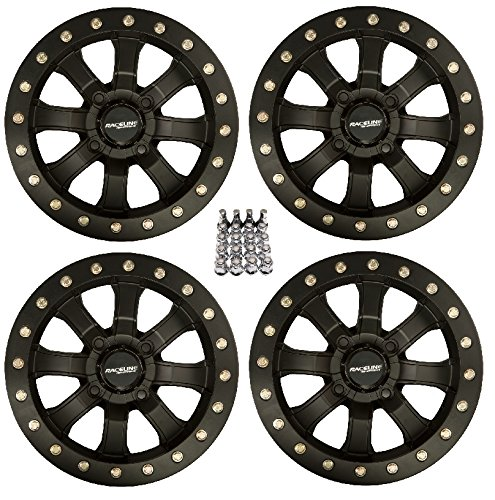 Mist Rim (Raceline Mamba Beadlock ATV Wheels/Rims Black 14