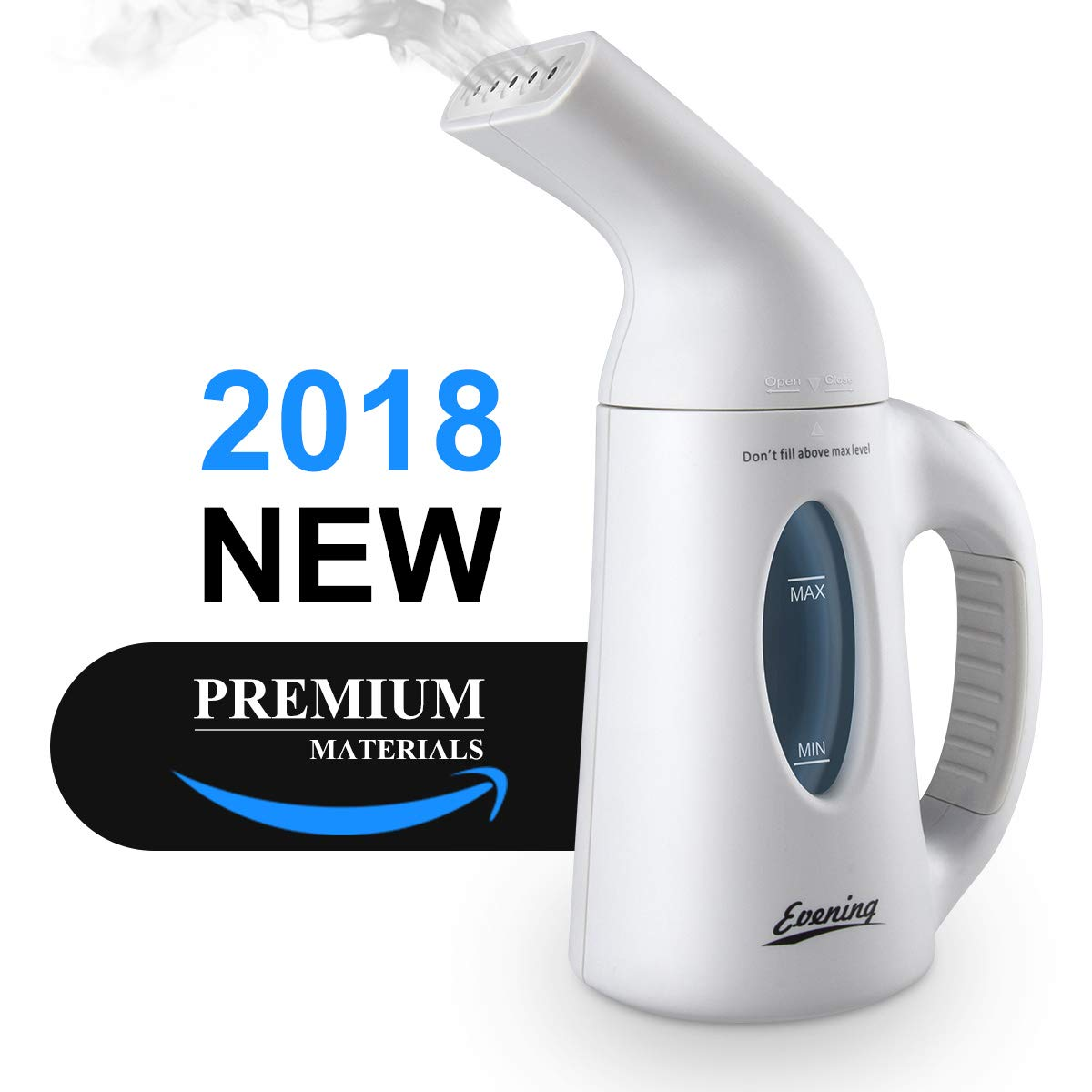 Evening Protable Steamer Travel Steamer for Clothes Handheld Steamer for Home/Travel Use Clean, Sterilize,Neutralizes Odors Hand Held Steamer Garment and Soft Fabric Steamers Fast Heats Up