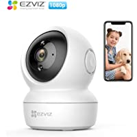 EZVIZ C6N, 1080p WiFi Smart Home Security Camera, Intelligent Surveillance Camera with Night Vision, Smart Tracking, Two-way Audio, White