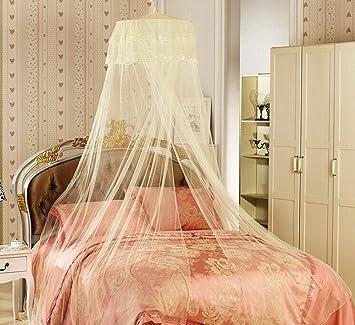 und Doppelbette Insektenschutz Moskitonetz XXL Mückenschutz Netz für Einzel