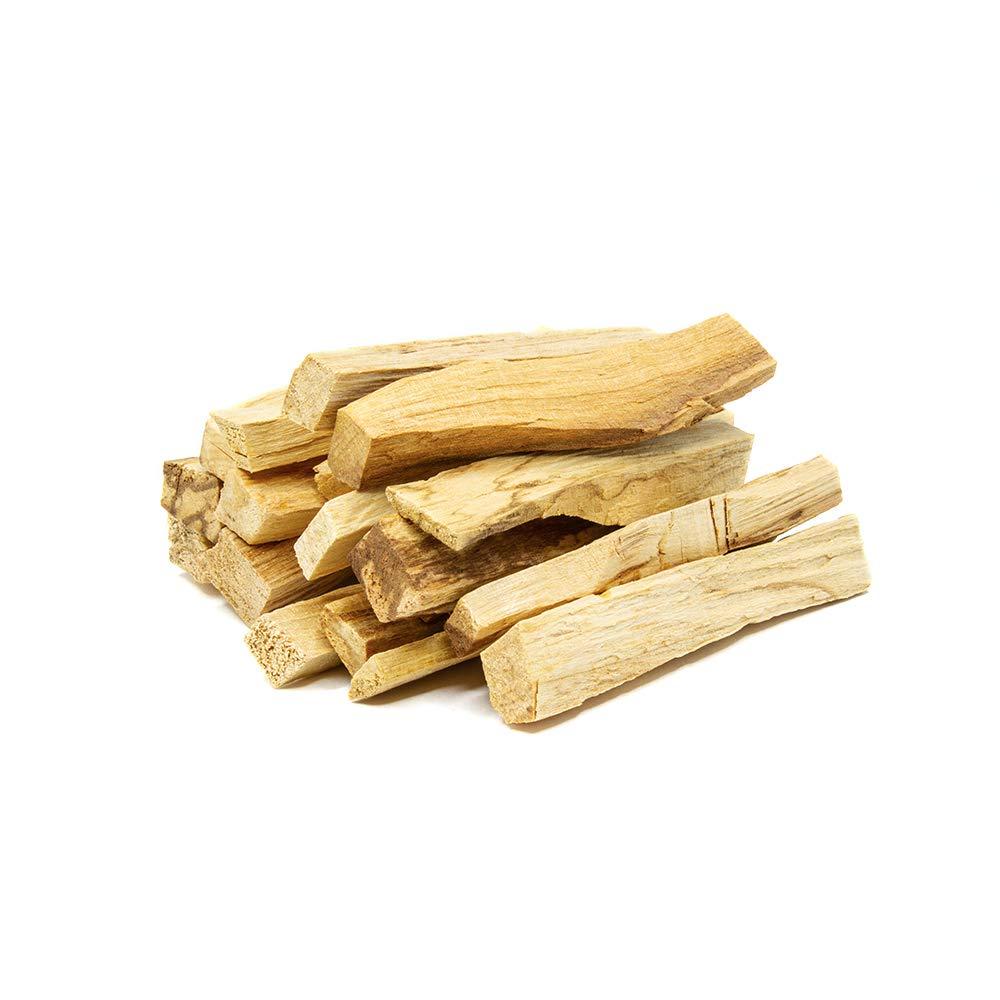 GloFX Organic Palo Santo Incense Sticks - 20 Pack - Chakra Meditation Cleansing Stress Relief - Sustainably Harvested Incense Burning Sticks
