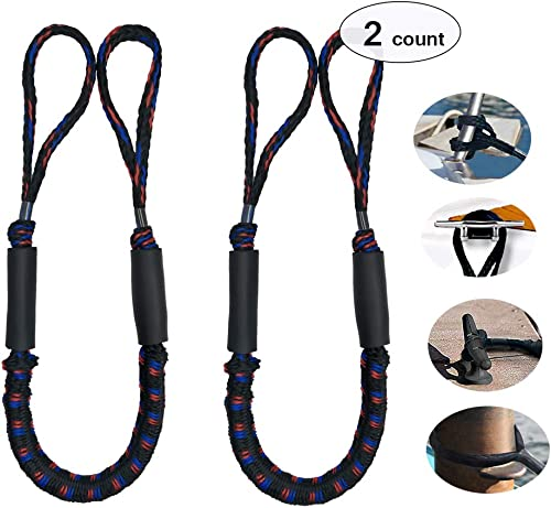 Bungee Dock Line (Mooring Rope) for Boat 3.5 [OBeauty] Picture