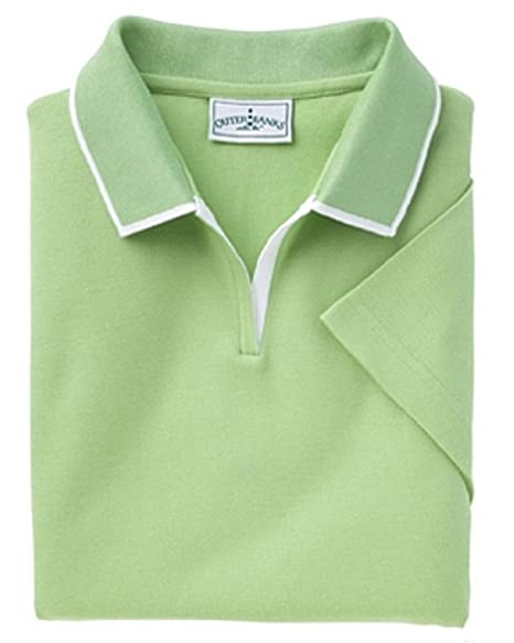 ef86a157 Outer Banks 6094 Ladies Egyptian Diamond Knit Polo Shirt with ...