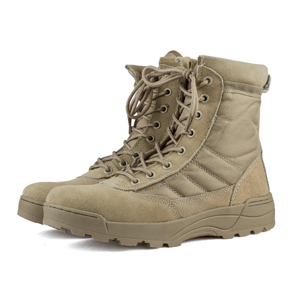 Tactical Boots Army Outdoor Stiefel Wanderschuh Bergschuh Outdoorschuh Schwarz / Beige Größe 39-45 BGkpVS6d