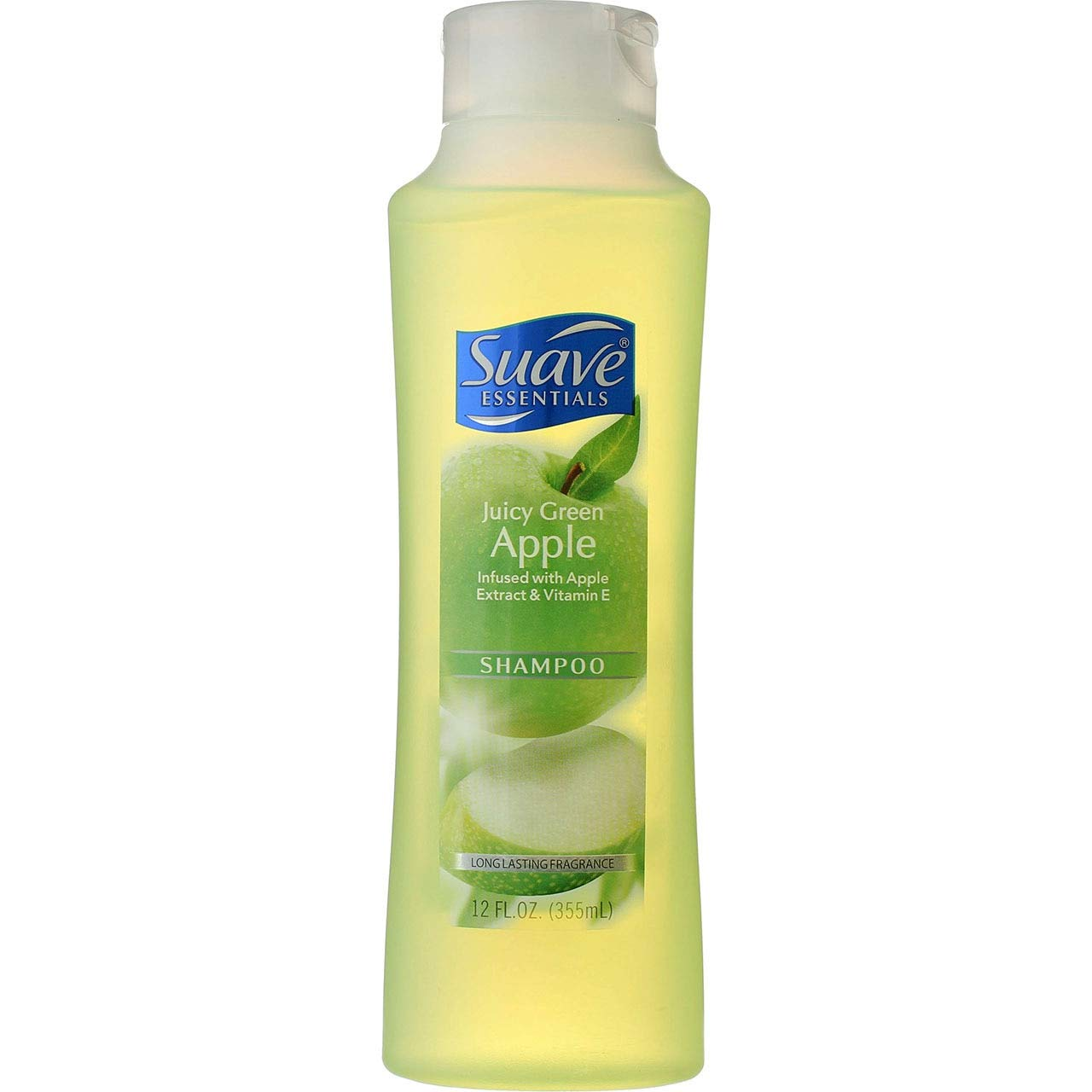 Suave Naturals Shampoo Juicy Green Apple 12 oz (Pack of 3)