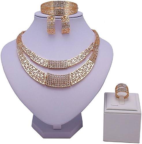 Bellystar Bridal Nigerian Wedding Colorful Dubai Gold Crystal Women Customer African Beads Jewelry Sets