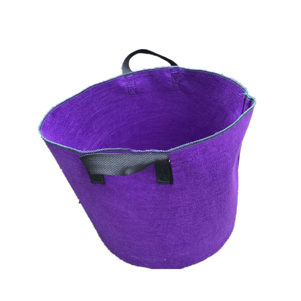 Cherlvy Purple Gardening Bags Can Be Used Repeatedly For Garden Defoliation Bags. (Size : 10gallon)