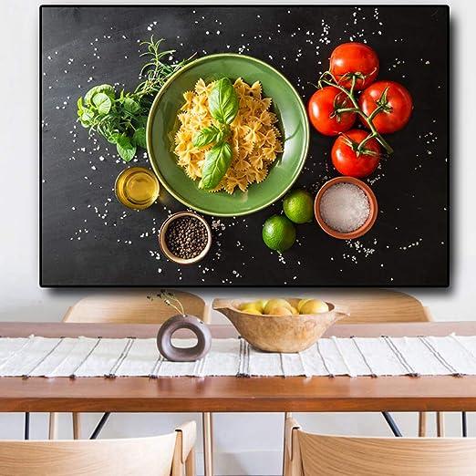 FKSRET Fruit Vegetable Cooking Supplie Carteles e ...