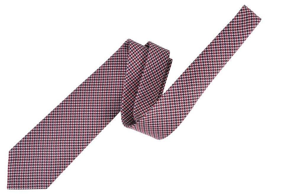 Tom Ford Red Silk Skinny Neck Tie