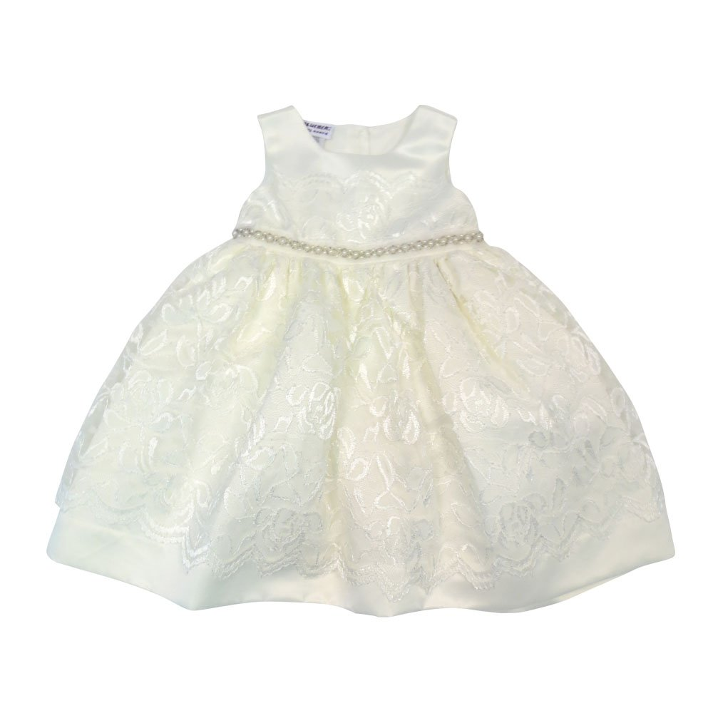 Happy Kids Baby-Girls Baby Girls Lace Illusion Dress CNB10361