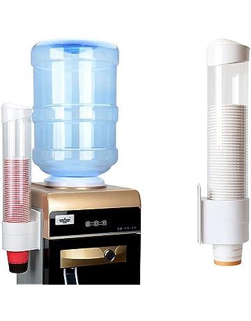 Taza dispensador de protección del medio ambiente para vasos de plástico desechables copa Holder Oficina Hospital