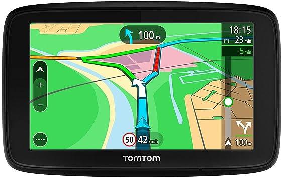 TomTom VIA 53, GPS Navegación con pantalla táctil de 5 pulgadas ...
