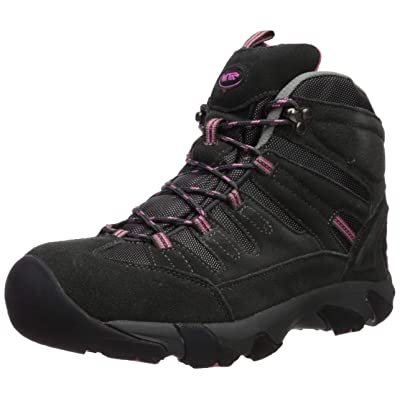Ad Tec Women's Composite Toe Work Hiker Grey/Pink 9 | Hiking Boots