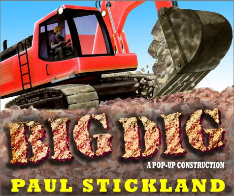 Read Online Big Dig: A Pop-Up Construction Ragged Bears PDF