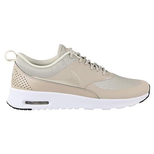 new concept b24b6 faa4e Nike Wmns Air MAX Thea, Zapatillas de Gimnasia para Mujer, Beige  (String Light Cream Black White 205), 44.5 EU  Amazon.es  Zapatos y  complementos