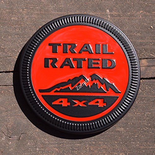trail rated emblem jeep - 2