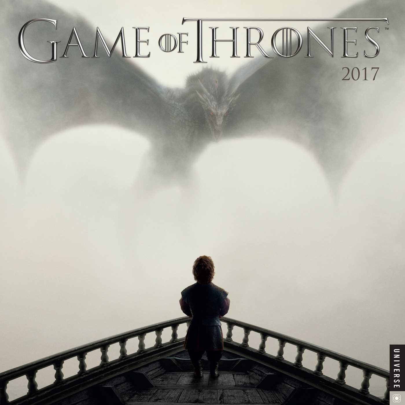 game of thrones 2017 wall calendar hbo 9780789331724 amazon com books