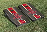 Houston Rockets NBA Basketball Regulation Cornhole Game Set Onyx Stained Stripe Version