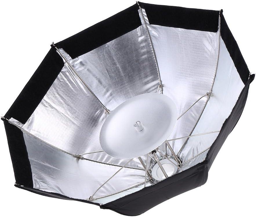 Godox S7 48cm Portable Foldable Octagon Photography Softbox Umbrella Lighting Kit for WITSTRO AD360 AD180 AD200 Series Speedlight Flash Strobe